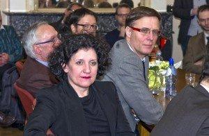 Justizministerin Annemie Turtelboom bei ihrem Besuch in Eupen. Foto: Gerd Comouth