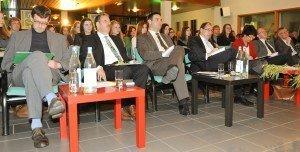 Die Jury der diesjährigen Rhetorika. Foto: Jannis Mattar
