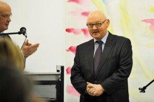 Walter Mießen (links), Präsident des Verwaltungsrates, und Ikob-Gründer Francis Feidler. Foto: Jannis Mattar