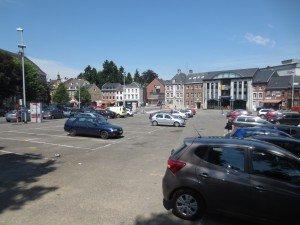 Zumeist dient der Werthplatz nur als Parkplatz. Foto: OD