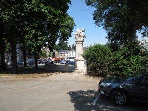 Das Kriegerdenkmal musste dringend restauriert werden. Foto: OD