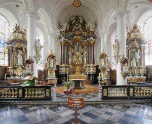 Eine Innenansicht von St. Nikolaus. Foto: Wikimedia.org
