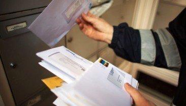 Briefträger Briefe Post