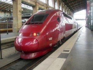 Ankunft eines Thalys-Zuges in Paris Nord. Foto: Wikipedia