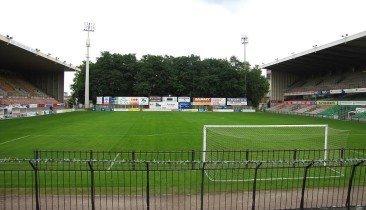 Das Edmond-Machtens-Stadion in Molenbeek.