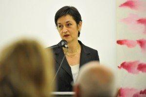 Maïté Vissault, Künstlerische Leiterin des IKOB. Foto: Jannis Mattar