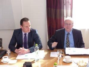 Oliver Paasch (links) und Robert Nelles. Foto: OD