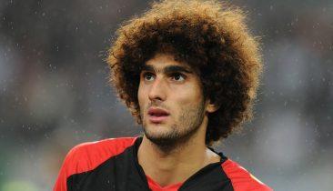 Marouane Fellaini (hier im Trikot der belgischen Nationalmannschaft). Foto: dpa