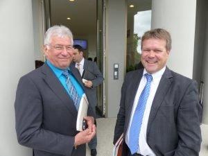 Alfons Velz (links) und Clemens Scholzen. Foto: OD
