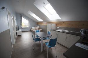 Man kann auch ein komplettes Appartement buchen. Foto: Jannis Mattar