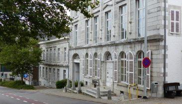 Im ehemaligen Parlamentsgebäude am Eupener Kaperberg tut sich seit Oktober 2013 nichts mehr. Foto: OD