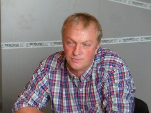 Erwin Schöpges, Vorstandsmitglied der MIG, bei der Pressekonferenz am Donnerstag in St. Vith. Foto: OD