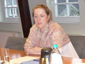 Kulturministerin Isabelle Weykmans. Foto: OD