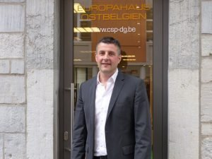 Der ostbelgische Europaabgeordnete Pascal Arimont. Foto: OD