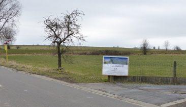 Blick auf das Gelände auf Walhorner Feld, wo die drei Windräder errichtet werden sollten. Foto: OD