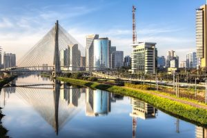 Eine Ansicht der Metropole Sao Paulo. Foro: Shutterstock