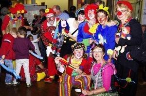 Die CliniClowns in Aktion. Foto: Gerd Comouth