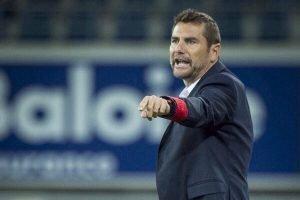 Stolz auf seine Mannschaft: AS-Trainer Jordi Condom. Foto: Belga