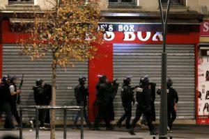 Anti-Terror-Einsatz im Pariser Vorort Saint-Denis am Mittwochmorgen. Foto: epa