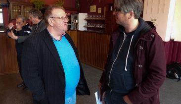 PDS-Direktor Karl-Heinz Pluymen (links). Foto: OD