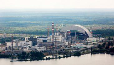 So präsentiert sich das frühere Atomkraftwerk von Tschernobyl heute, 30 Jahre nach der Katastrophe. Foto: Shutterstock