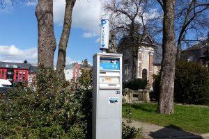 Dieser Parkautomat hat nach Meinung der Geschäftsleute vom Werthplatz ausgedient. Foto: OD