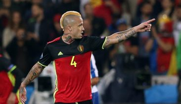 Belgiens Nationalspieler Radja Nainggolan. Foto: Shutterstock
