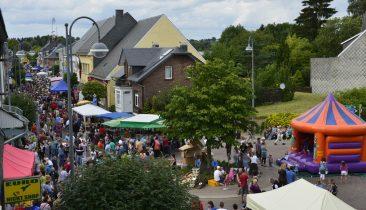 Am ersten Freitag im August ist in St. Vith jede Menge los.