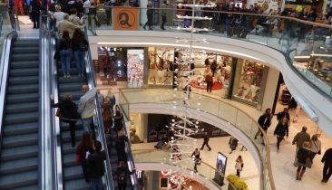 Das Einkaufscenter Aquis Plaza in Aachen.