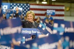 Wahlverliererin Hillary Clinton. Foto: Shutterstock