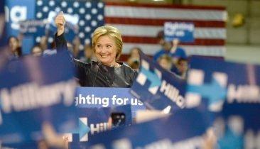 Hillary Clinton: Erstmals geht für eine der beiden großen Parteien eine Frau ins Rennen ums Weiße Haus. Foto: Shutterstock