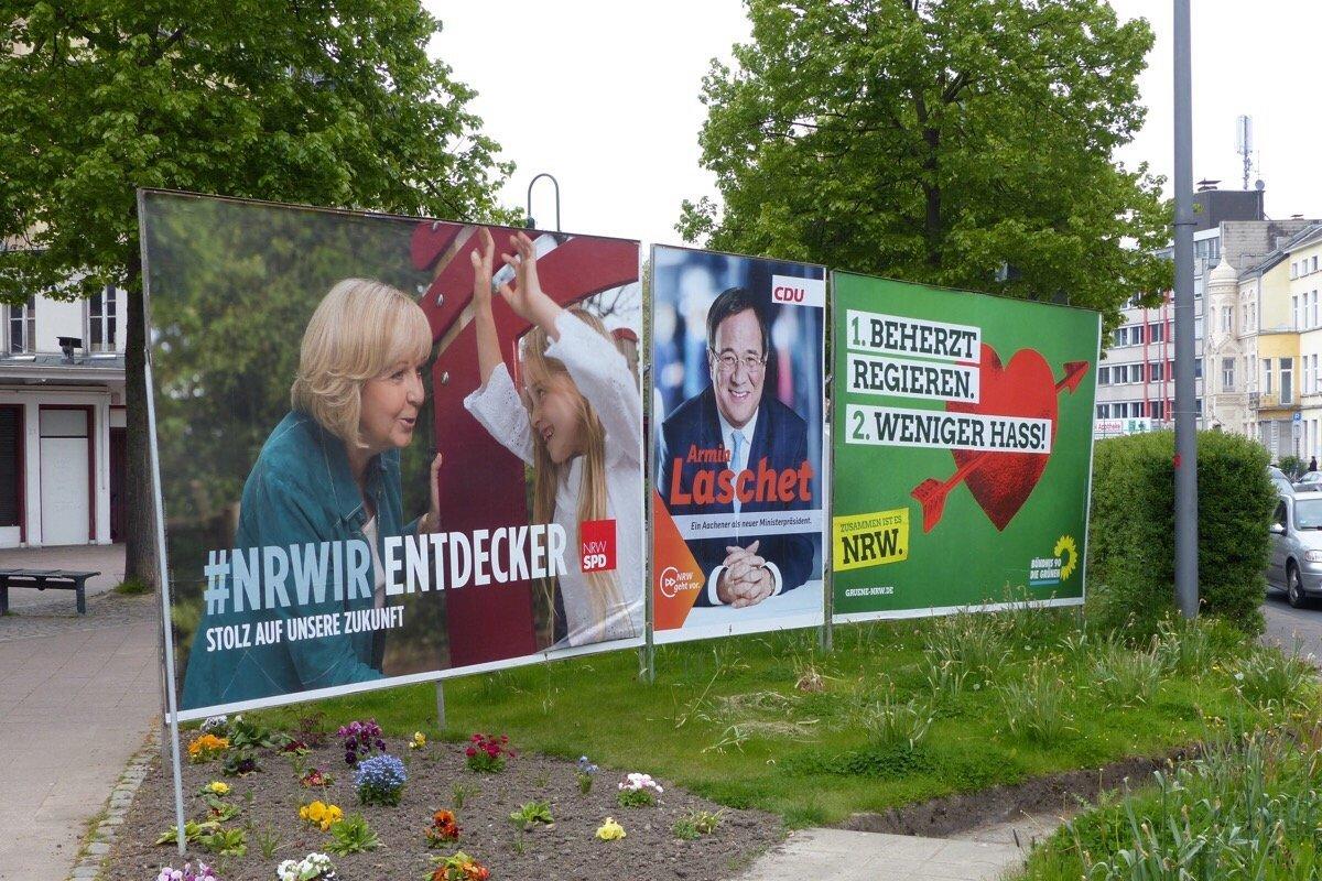 bei der landtagswahl am sonntag in nordrhein westfalen spielt auch aachen gegen w rselen. Black Bedroom Furniture Sets. Home Design Ideas