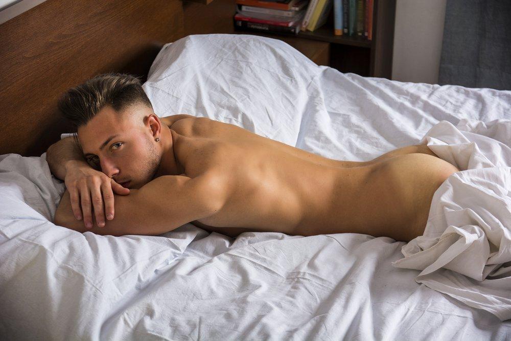 Nackt männer fotos Bilder Alter