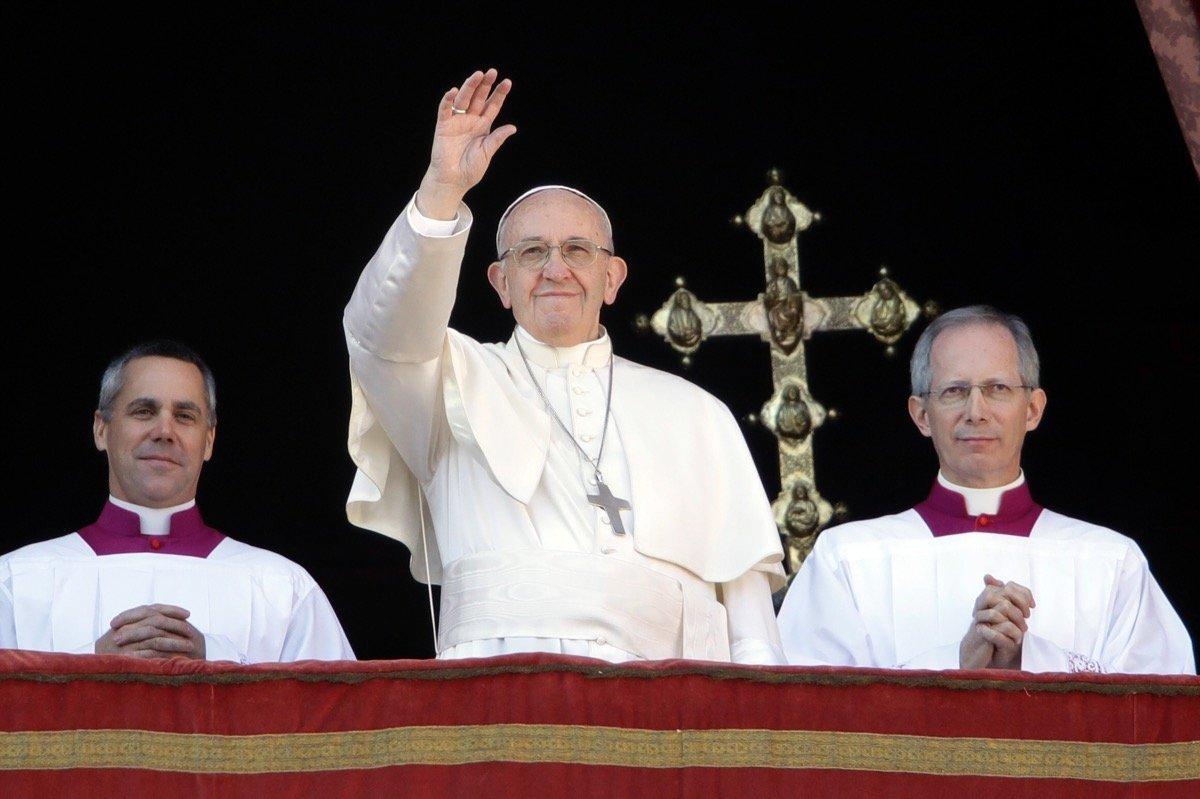 Weihnachtsbotschaft: Papst Franziskus beklagt die vielen ...