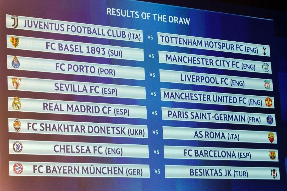Champions League Begegnungen