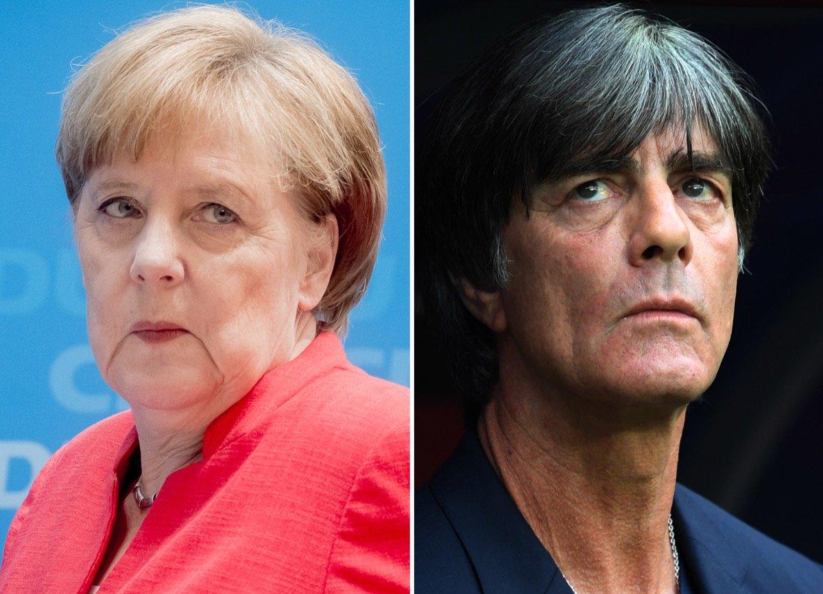 Akute Abstiegsgefahr Was Merkel Und Löw Verbindet Schicksalstage