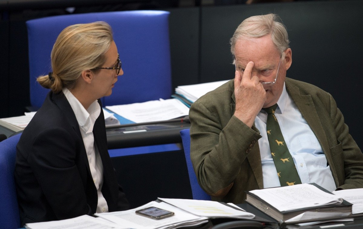 """NS Zeit """"nur Ein Vogelschiss In Der Deutschen Geschichte"""" Die AfD"""