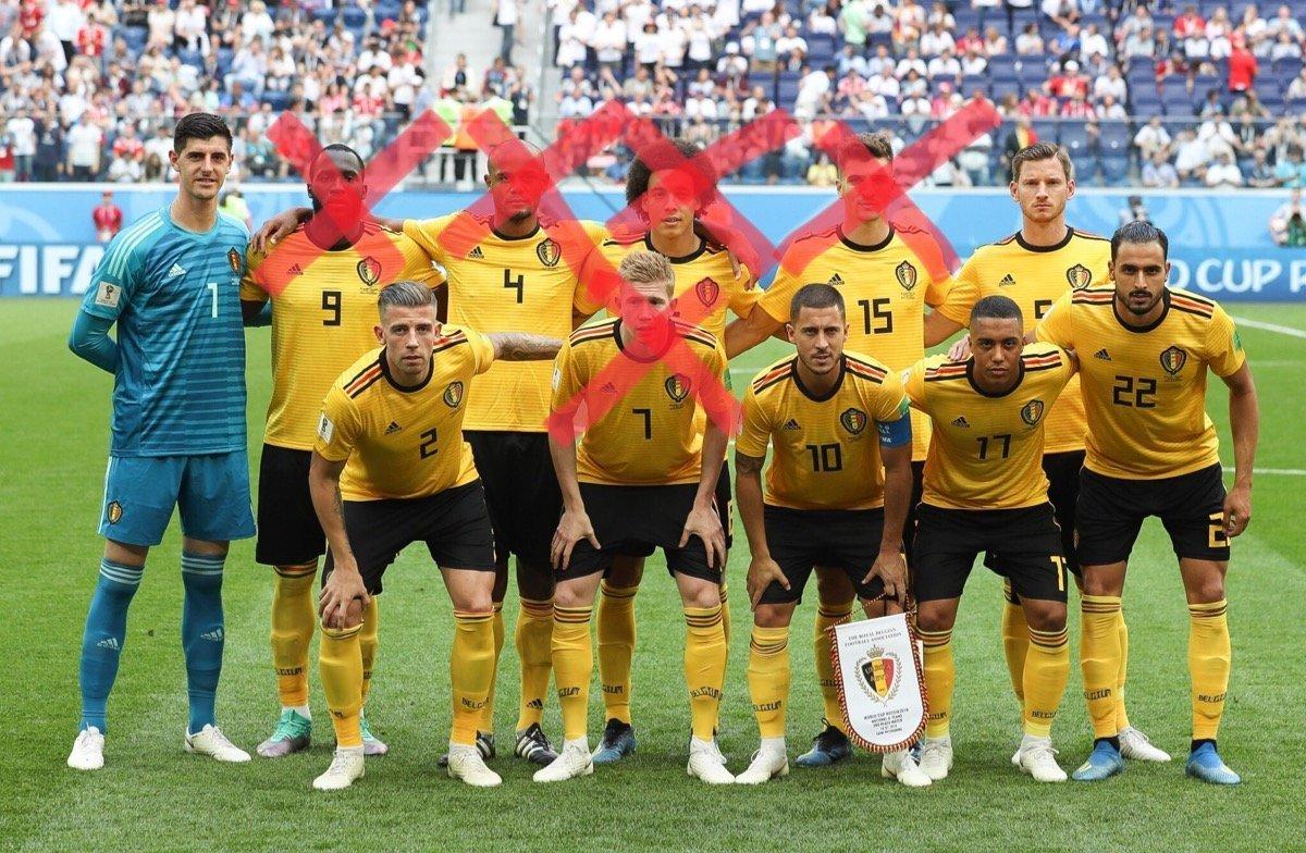 Belgiens Fussball Nationalelf Startet Heute Gegen Russland