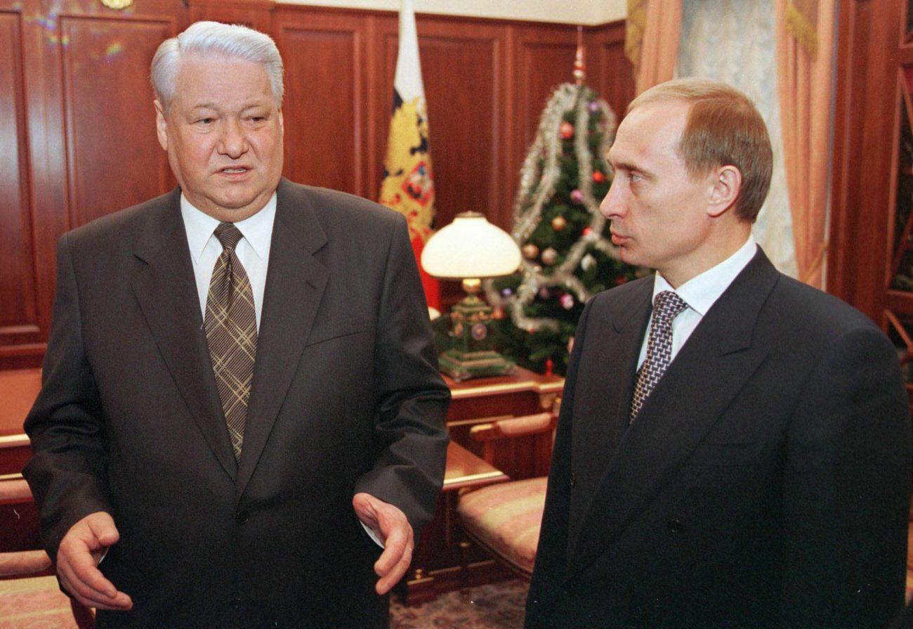 Jelzin Putin